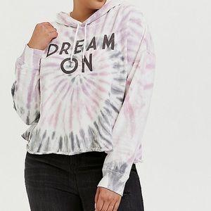 TORRID dream on crop hoodie